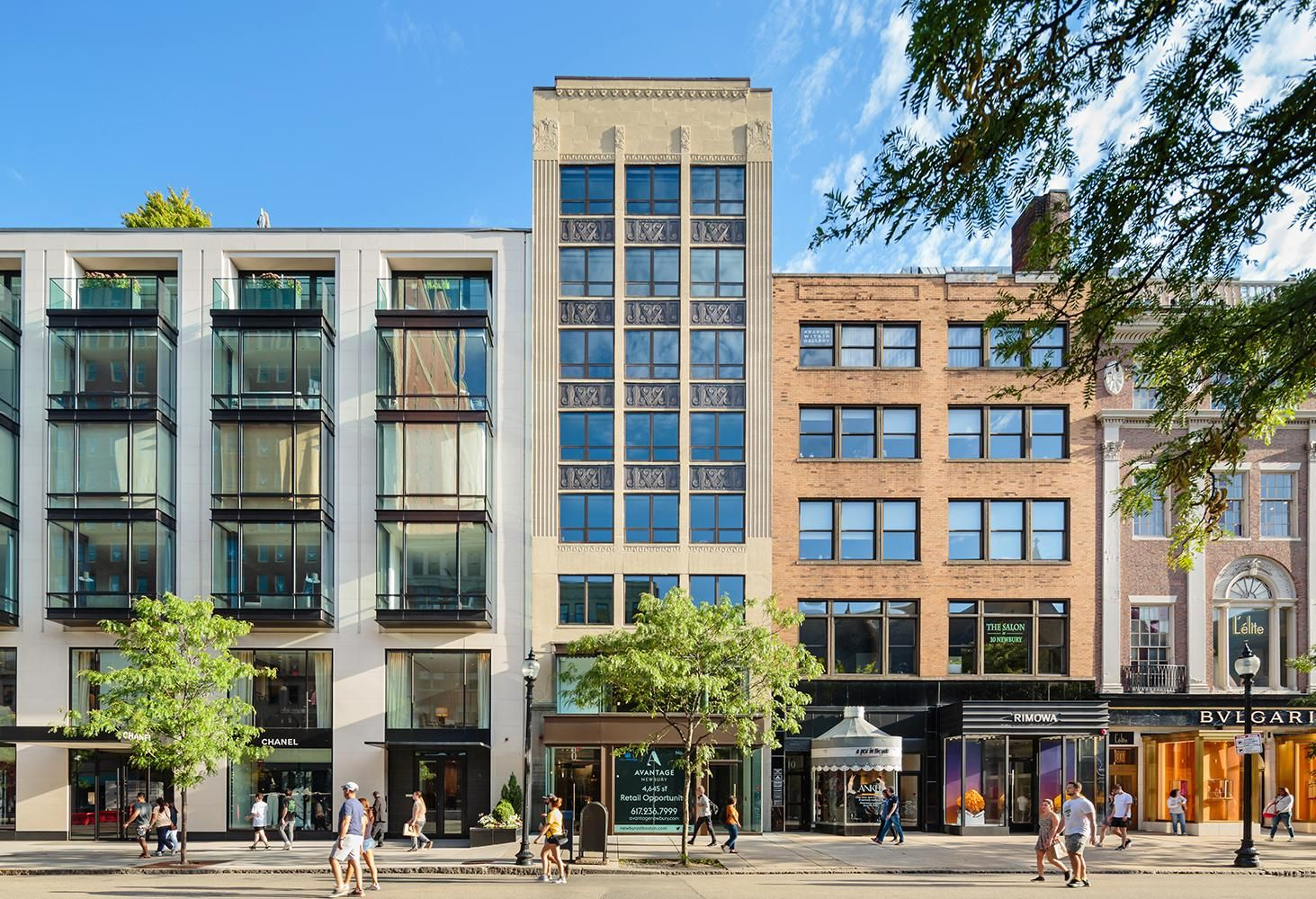 17K SF Back Bay Luxury Retail, Office Building Sells For $42M