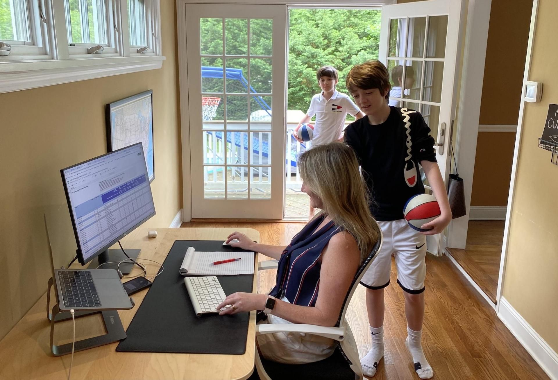 'The Crying In The Background Is Gender-Neutral': Can Work From Home Help Balance CRE's Scales?