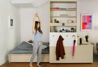 Robotic Furniture Lets Studio Apartments Function As One-Bedrooms
