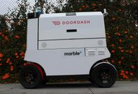 Your Next Meal Could Be Delivered By An Autonomous Robot On Wheels