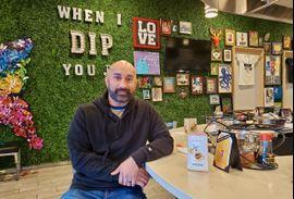 Dip owner Rishi Patel