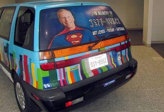 Brookfield Art Car Remembers Jeff Burcke