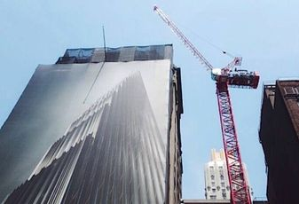 Even the crane at 111 W 57th St is Breaking Records