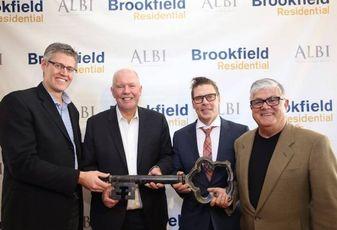 Brookfield Residential Buys Luxury Builder ALBI Homes