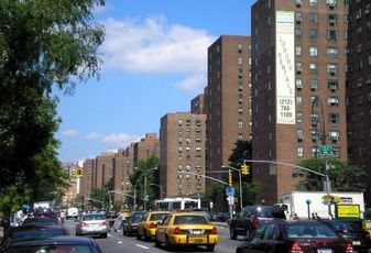 Stuyvesant Town, one of the largest apartment complexes in the U.S., is made up heavily of rent-stabilized apartments.