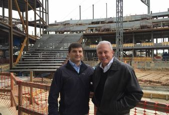 Sugar Land Performance Venue Tops Out