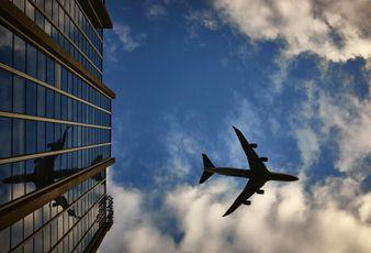 travel, plane