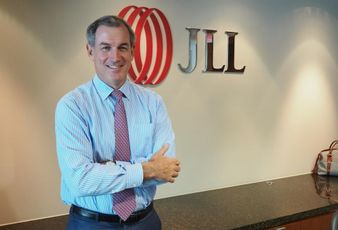 JLL Americas CEO Greg O'Brien, snapped in his Washington, DC office