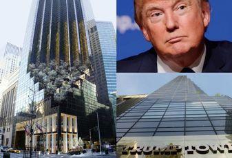 Trump Tower Signage: https://commons.wikimedia.org/wiki/File:TrumpTower.JPG Trump: https://en.wikipedia.org/wiki/Talk%3ADonald_Trump%2FArchive_6#/media/File:Donald_Trump_August_19,_2015.jpg Exterior Shot: https://en.wikipedia.org/wiki/Trump_Tower