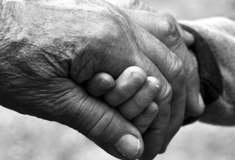 Old People Hands, senior housing