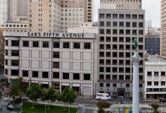 Union Square, Tiffany Building, San Francisco