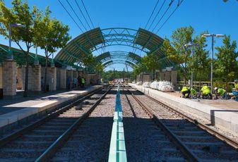 DART's Ledbetter Station in Dallas