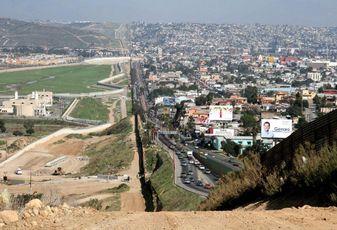 Tijuana/San Diego border