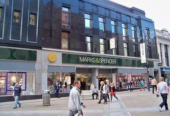 Marks & Spencer on the high street