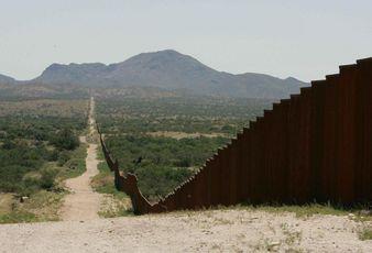 border fence, wall