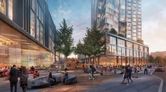 WS Unveils Plan For Seaport Square Pedestrian Promenade