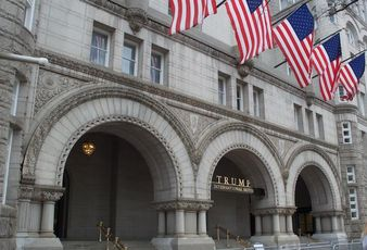 Trump Hotel Old Post Office Building DC