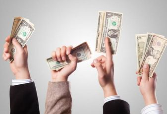 Venture capital, investment, cash, money, cash in hands, dollars