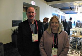 KIG managing partner Todd Stofflet and Atlas Residential chief investment officer Leslie Andren