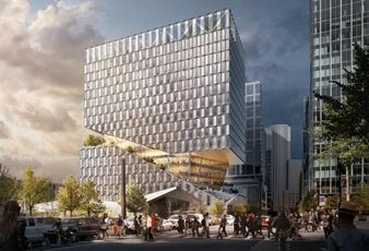 WS Development Office Tower Slices Through Bland Design Criticism In Seaport