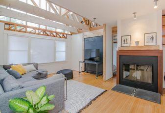 Living room, home rental, short term rental