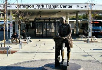 The Jefferson Park Transit Center, Chicago