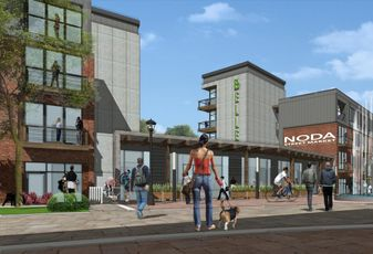 Rendering of Greenway District Charlotte, North Carolina