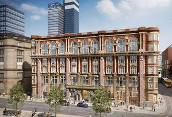 £34m Grade II building, formerly known as Hanover House, part of the Noma Develolopment, Manchester, UK - developer Hermes. Total 109,000 sq ft.