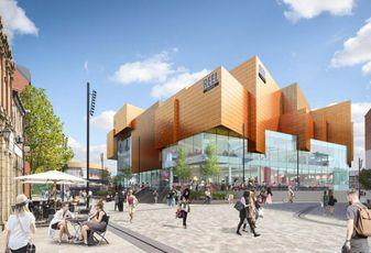 £80M Rochdale Riverside retail scheme, Rochdale, Greater Manchester