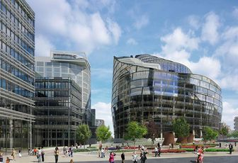 The 2011 vision for Manchester's Noma site with new Co-Op HQ right
