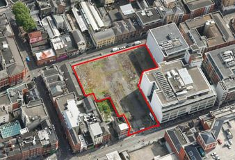Development site on Upper Abbey Street