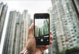 Proptech, CRE tech, phone, technology, office buildings