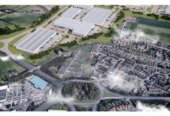 Peddimore Birmingham logistics development site