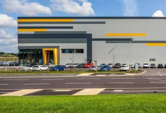 Peel Logistics' Port Salford warehouse scheme near Manchester Feb 2018