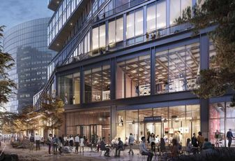 WS Development, Gensler Reveal What Amazon's Seaport Office Will Look Like
