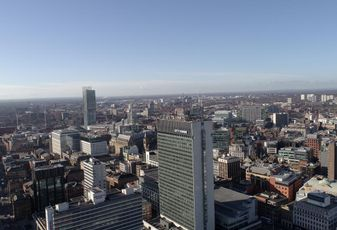 Manchester skyline with City Tower Centre