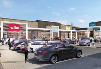 Selly Oak Retail Park Birmingham