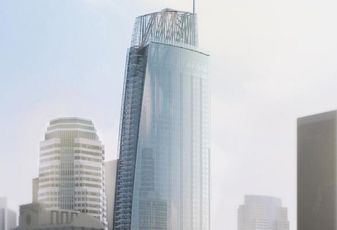 Wilshire Grand Center downtown Los Angeles