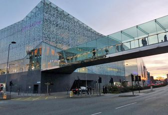 John Lewis building at Highcross Shopping Centre Leicester