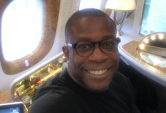 RedSwan founder and CEO Ed Nwokedi