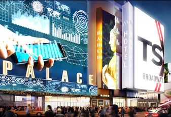 A Rendering of the theater at TSX