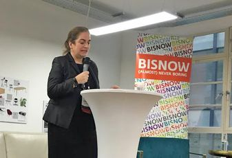Maria Machancoses, director at Midlands Connect Birmingham state of office event 6 December 2018
