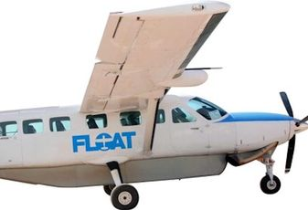 A Cessna Caravan will be used to take people to and from work in the Los Angeles area