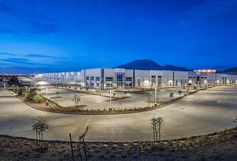 Columbia Business Park Phase I in the Inland Empire