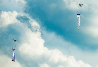 Drone Ground-Raising