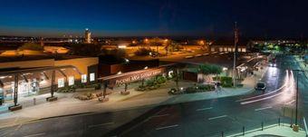 Phoenix Mesa Gateway Airport off the 202 highway