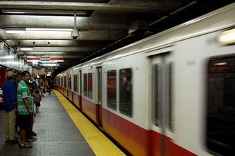 mbta red line downtown crossing boston