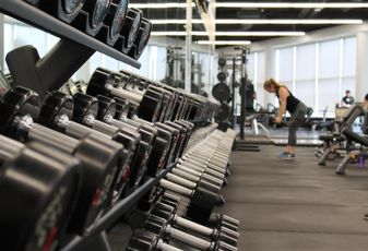 gym weights workout