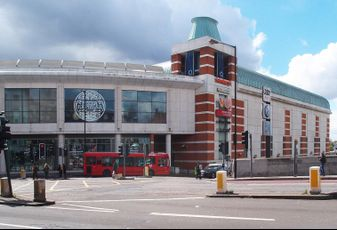The O2 centre on Finchley Road