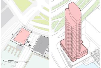BPDA Municipal Harbor Plan Site Massing of Hook Lobster Tower